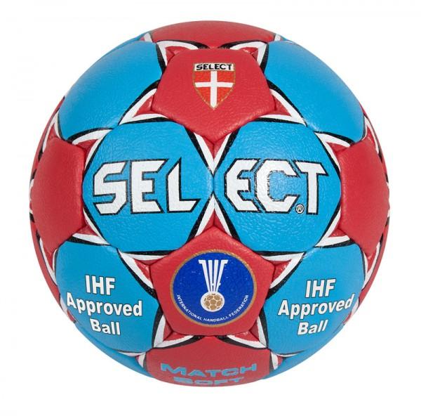 Select Match Soft Handball in hellblau/rot