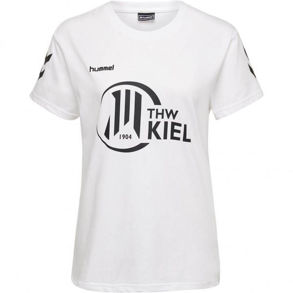 hummel THW Kiel Damen Fan Shirt in weiss