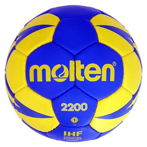 Der neue Molten HX220 Handball in blau/gelb kaufen