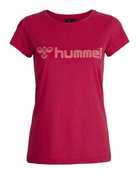 Das neue hummel Classic Bee Womens T-Shirt in vitual pink jetzt kaufen.