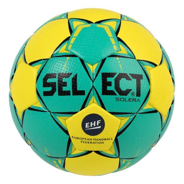 Der neue Select Solera Handball für 2018/19 in gelb/türkis