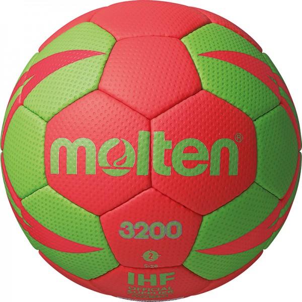 Molten H-X3200 Handball in rot-grün jetzt günstig kuafen.