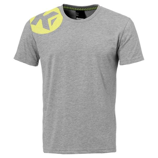 Das neue Kempa Caution T-Shirt in grau für 2018