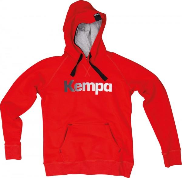 Der neue Kempa Statement Hoody in rot jetzt günstig kaufen