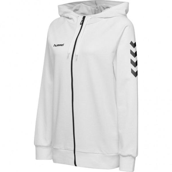 hummel-go-cotton-zip-hoodie-women-white