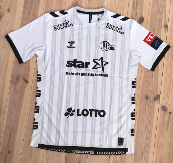 hummel THW Kiel ChampionsLeague Trikot 2019/20 in white