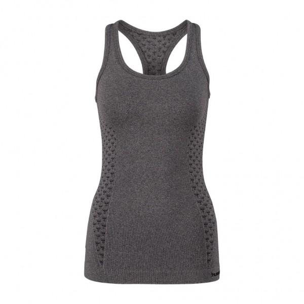 Das neue hummel Classic Bee CI Seamless Top für Damen in schwarz melange
