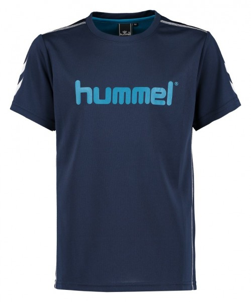 Hummel Axel SS Tee AW16 - total eclipse