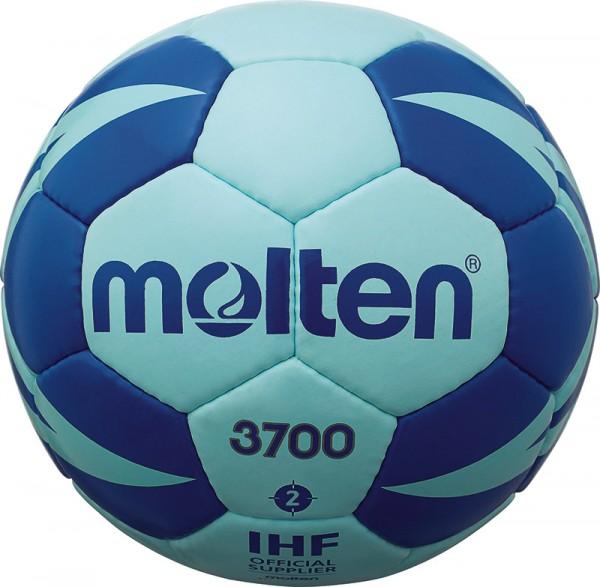 Molten Handball H-X3700 in blau mit sehr griffiger Oberfläche