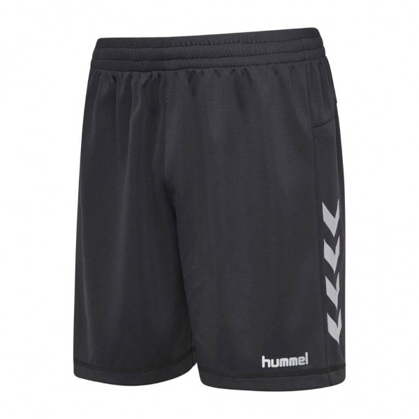 hummel Reflector Poly Shorts in schwarz