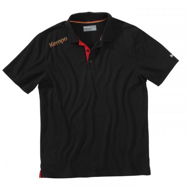 Kempa DHB Polo Shirt - schwarz