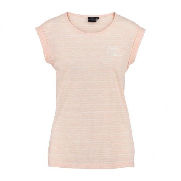 Das neue hummel Classic Bee Skye Damen T-Shirt in pfirsich