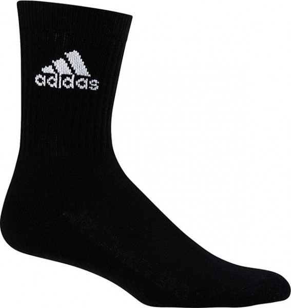Adidas Performance Crew 3er Pack Socken - black/white