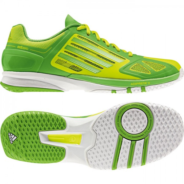 Adidas adizero Feather Pro - Handballschuhe - electricity/ray green