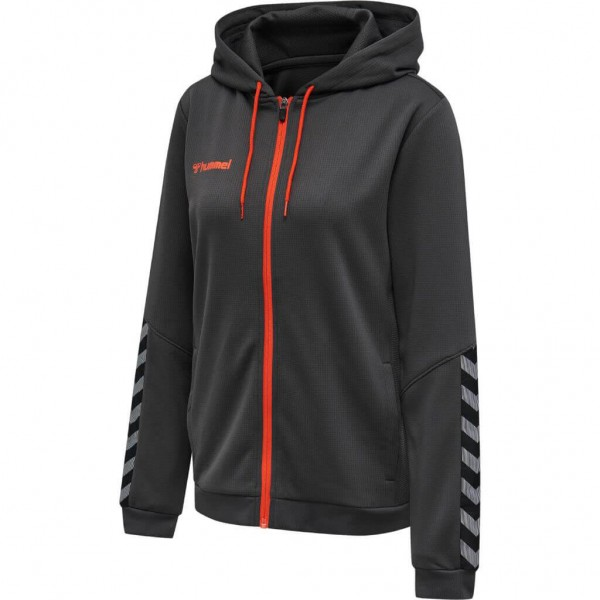 hummel-authentic-zip-hoodie-woman-asphalt