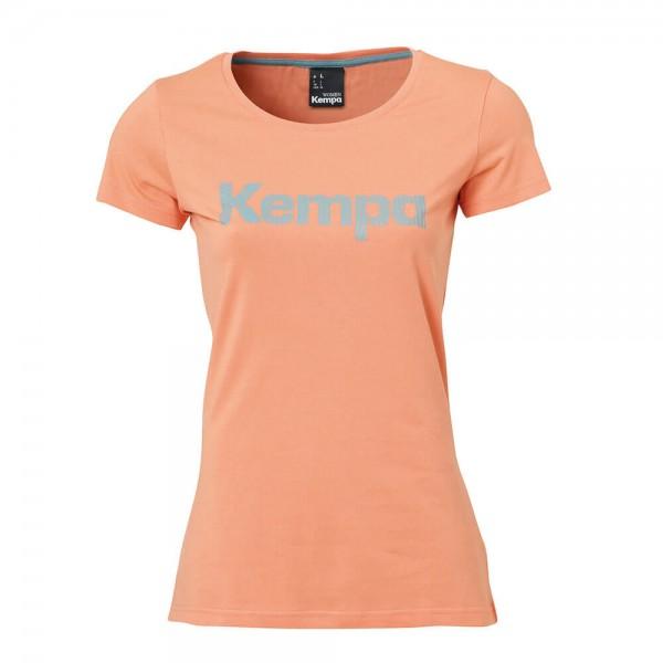 Kempa Graphic Women T-Shirt in coral