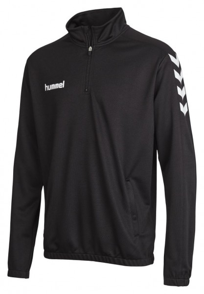 hummel-core-zip-sweat-black