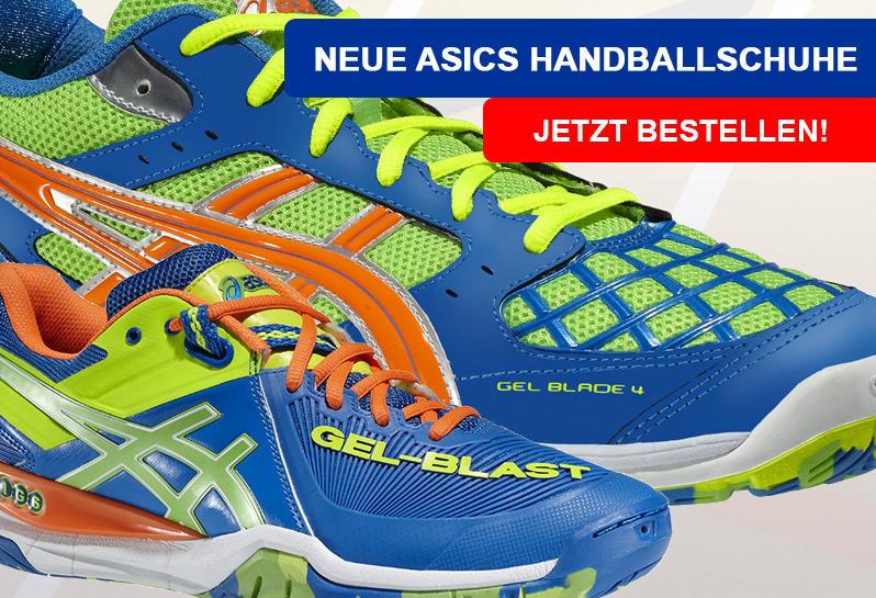 Die neuen Asics Handballschuhe 2015