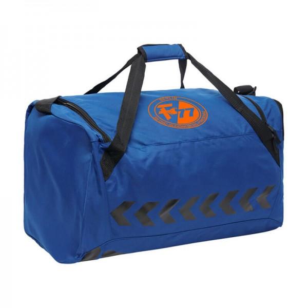 hummel CORE Sporttasche in blau mit SG OSF Berlin Aufdruck