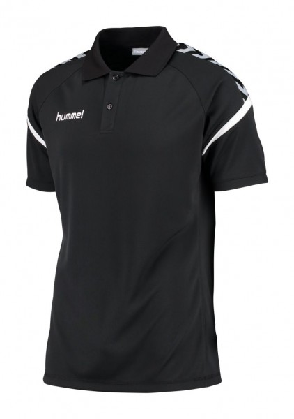 hummel-authentic-charge-polo-black