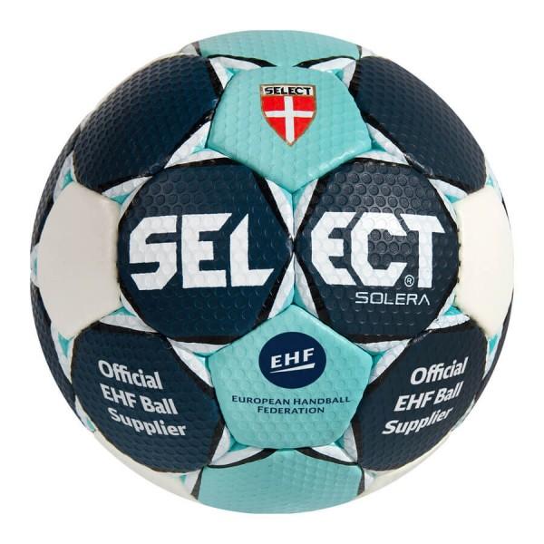 Der neue Select Solera Handball in navy-türkis für 2016 kaufen.