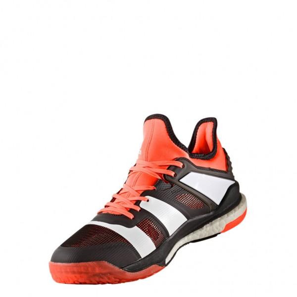 Die neuen adidas Stabil X Handballschuhe Herren in black