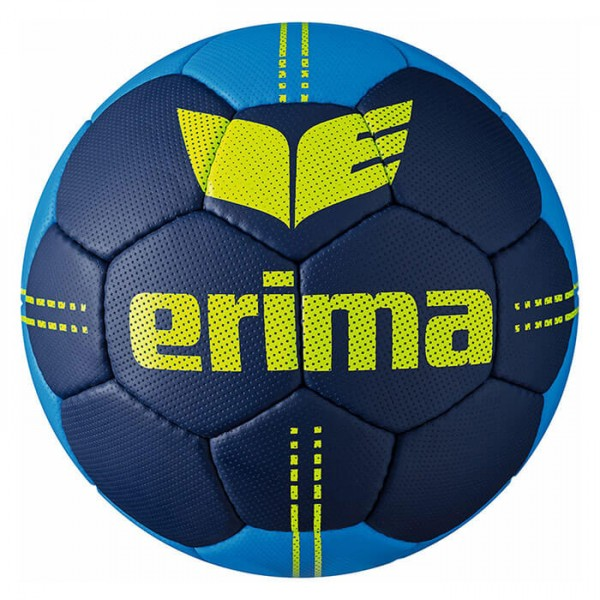 Der neue Erima Pure Grip No. 2.5 Handball in navy/lime
