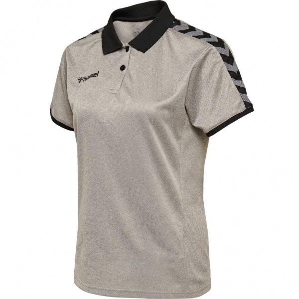 hummel-authentic-polo-woman-grey