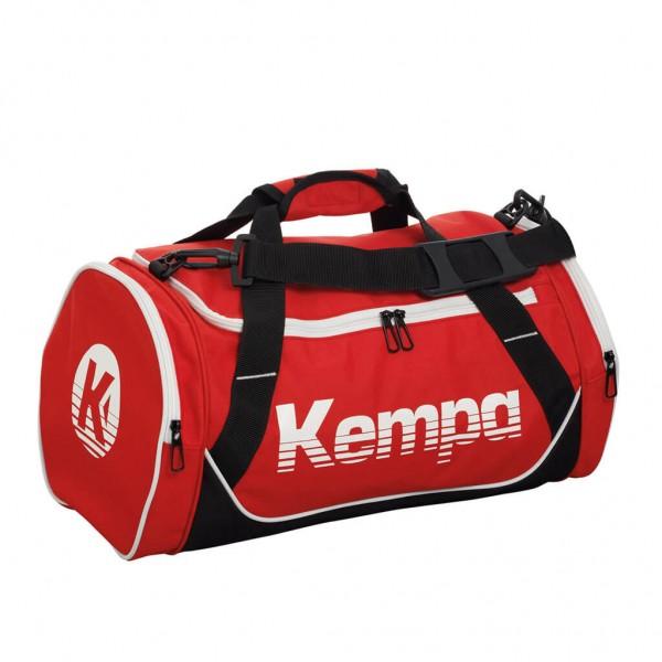 Die neue mittelgroße Kempa Sporttasche in rot