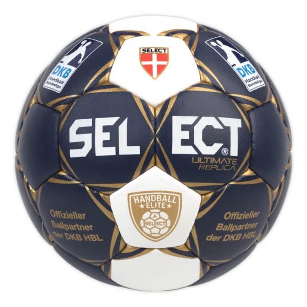 Der neue Select Ultimate Elite Replica Handball im Design der DKB HBL 17/18