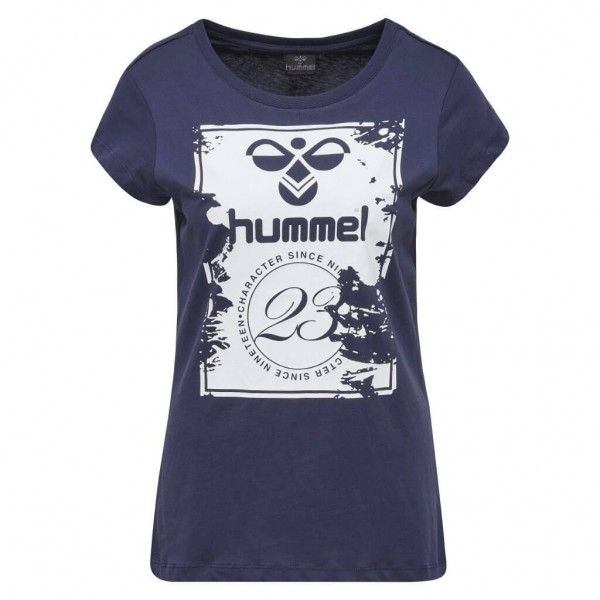 hummel Leanna Damen Tee in night blue