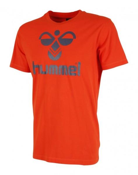Das neue hummel Classic Bee T-Shirt aus AW15 in orange