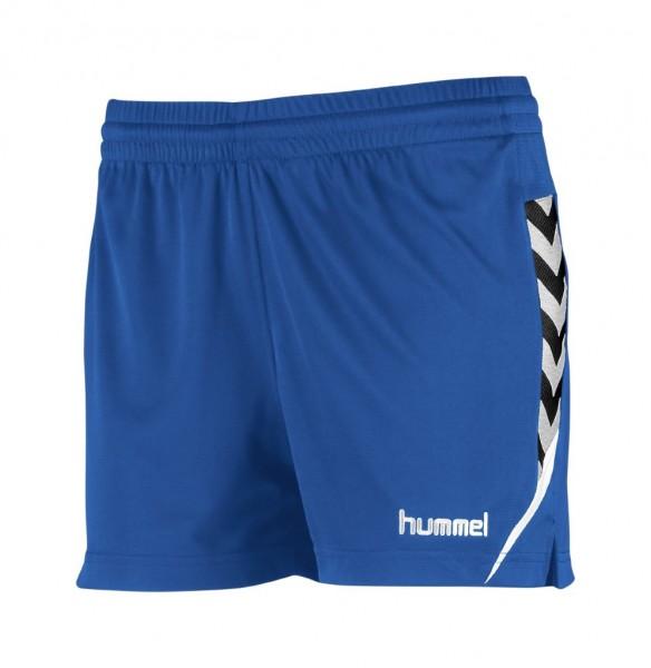 hummel-authentic-charge-damen-shorts-blau