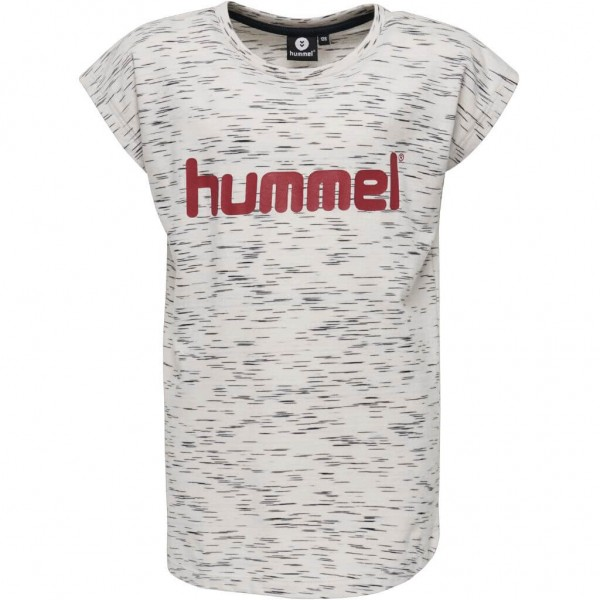 Das neue hummel Kinder T-Shirt Limba für Mädchen in whisper white