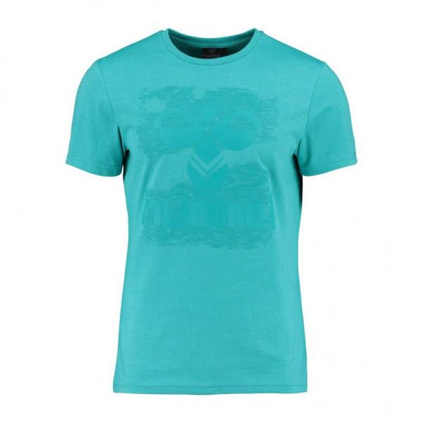 Das neue hummel Joshua T-Shirt in türis für Herren