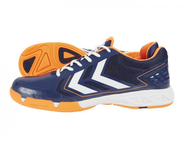 Hummel CELESTIAL COURT X7 - Handballschuhe - medival blue