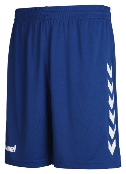 hummel-core-shorts-blau