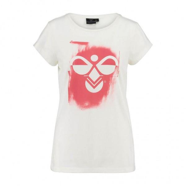 Das neue hummel Damen T-Shirt Sadie in weiss