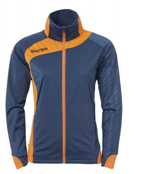 kempa-peak-damen-multi-jacke-petrol-orange