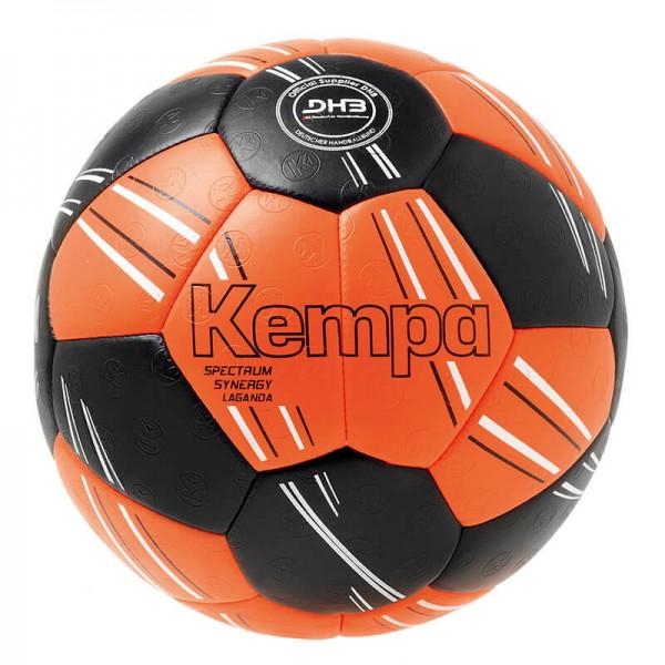 Kempa Spectrum Synergy Primo Handball in schwarz/orange