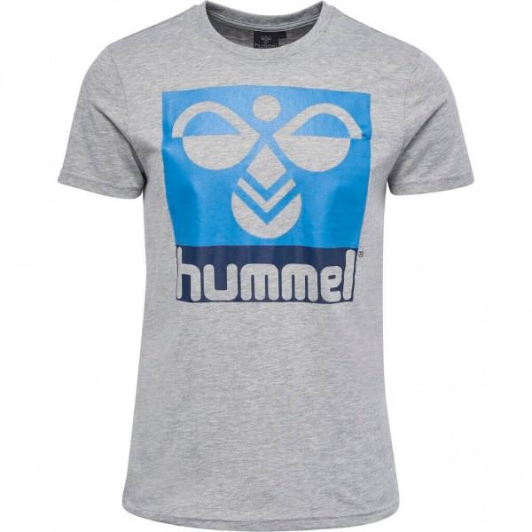 Das neue hummel Randall T-Shirt in grey melange