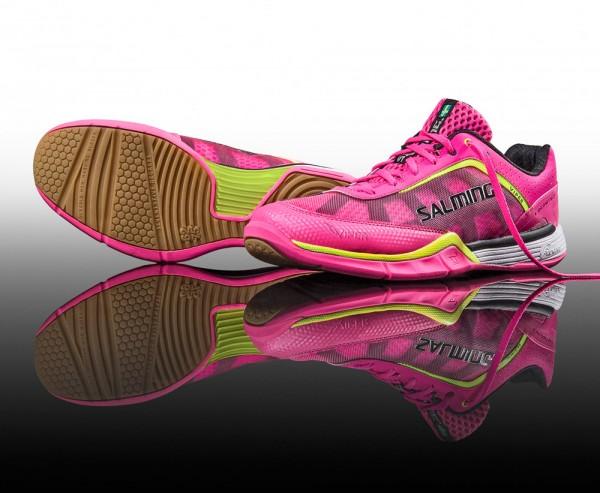 Salming Damen Handballschuhe Viper in pink