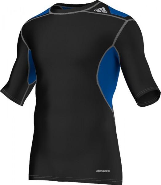 Adidas TECHFIT Power SS Tee - black - Funktionsshirt