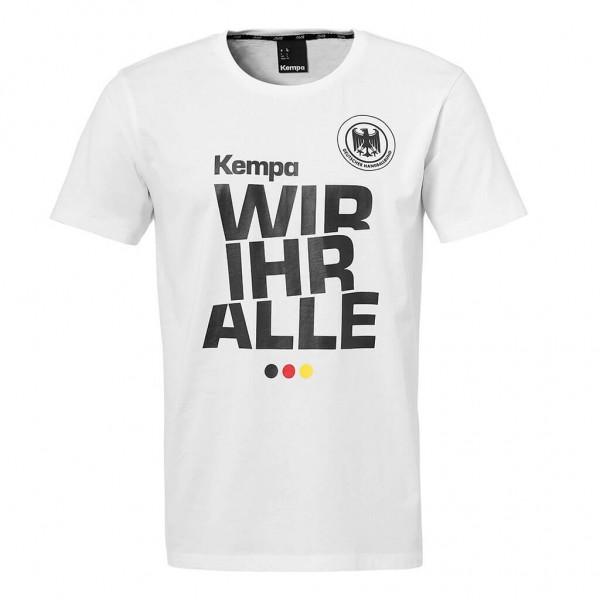 Kempa DHB T-Shirt Wir Ihr Alle zur EM 2020