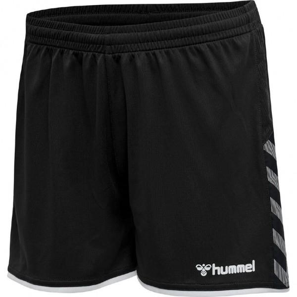 hummel-authentic-poly-shorts-woman-black