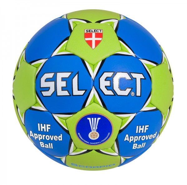 Select Scorpio Handball in grün/blau