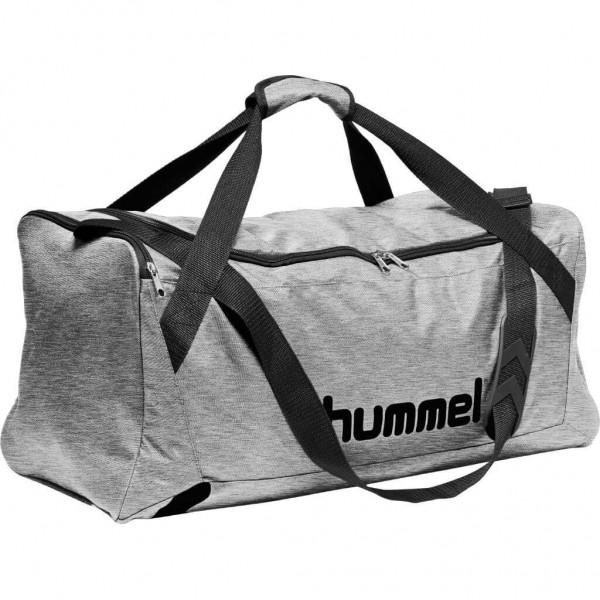 hummel-core-sporttasche-grey-melange