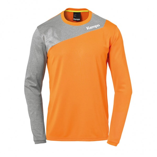 kempa-core-2-langarmshirt-orange