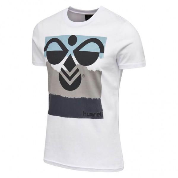 Das neue hummel Verner T-Shirt für Herren in weiss