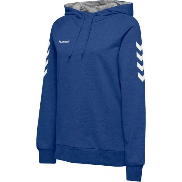 hummel-go-cotton-hoodie-women-blau
